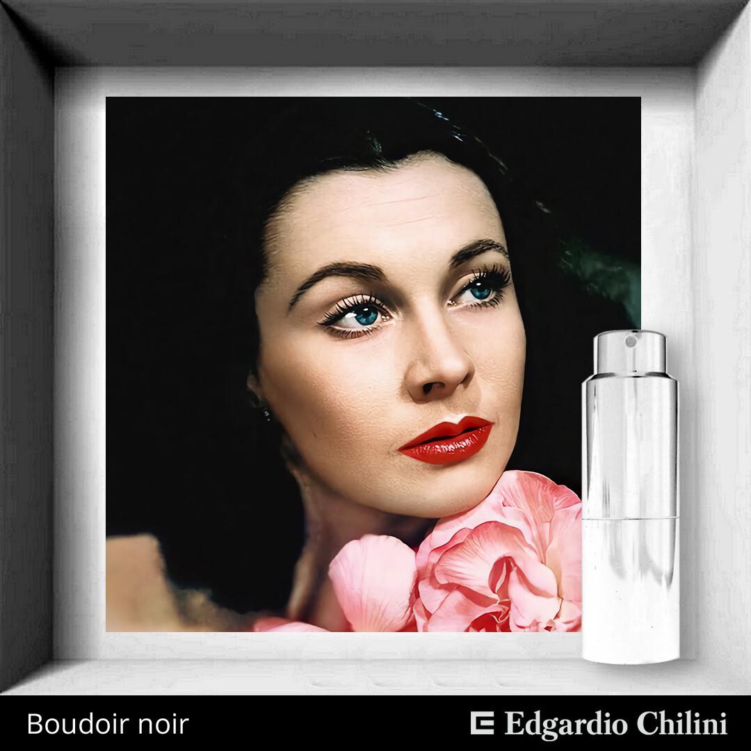 Boudoir Noir, Edgardio Chilini, enticing feminine fragrance