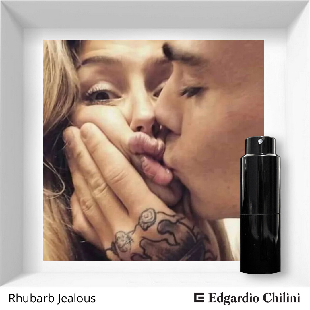 Fresh floral fragrance Rhubarb Jealous Edgardio Chilini