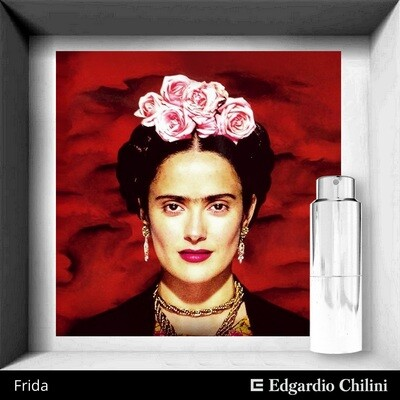 Edgardio Chilini, Frida, flower fragrance
