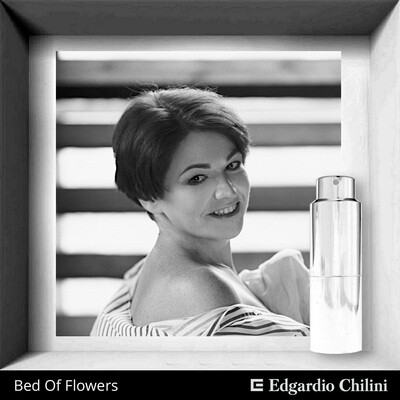 Edgardio Chilini, Bed Of Flowers, floral fruity fragrance