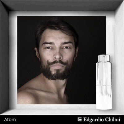 Edgardio Chilini, Atom, energetic woody scent
