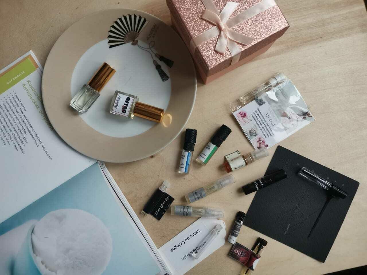 Perfumebox 5ml + сюрприз (7 сэмплов)