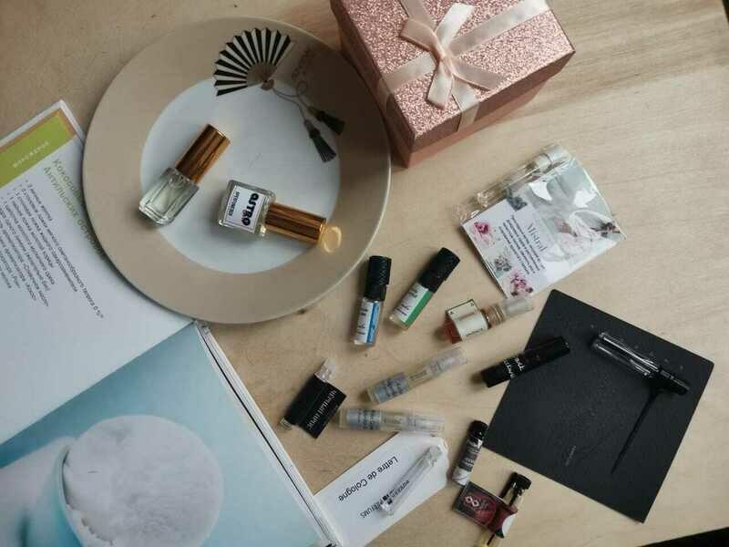 Perfumebox 5ml + surprise (7 samples)