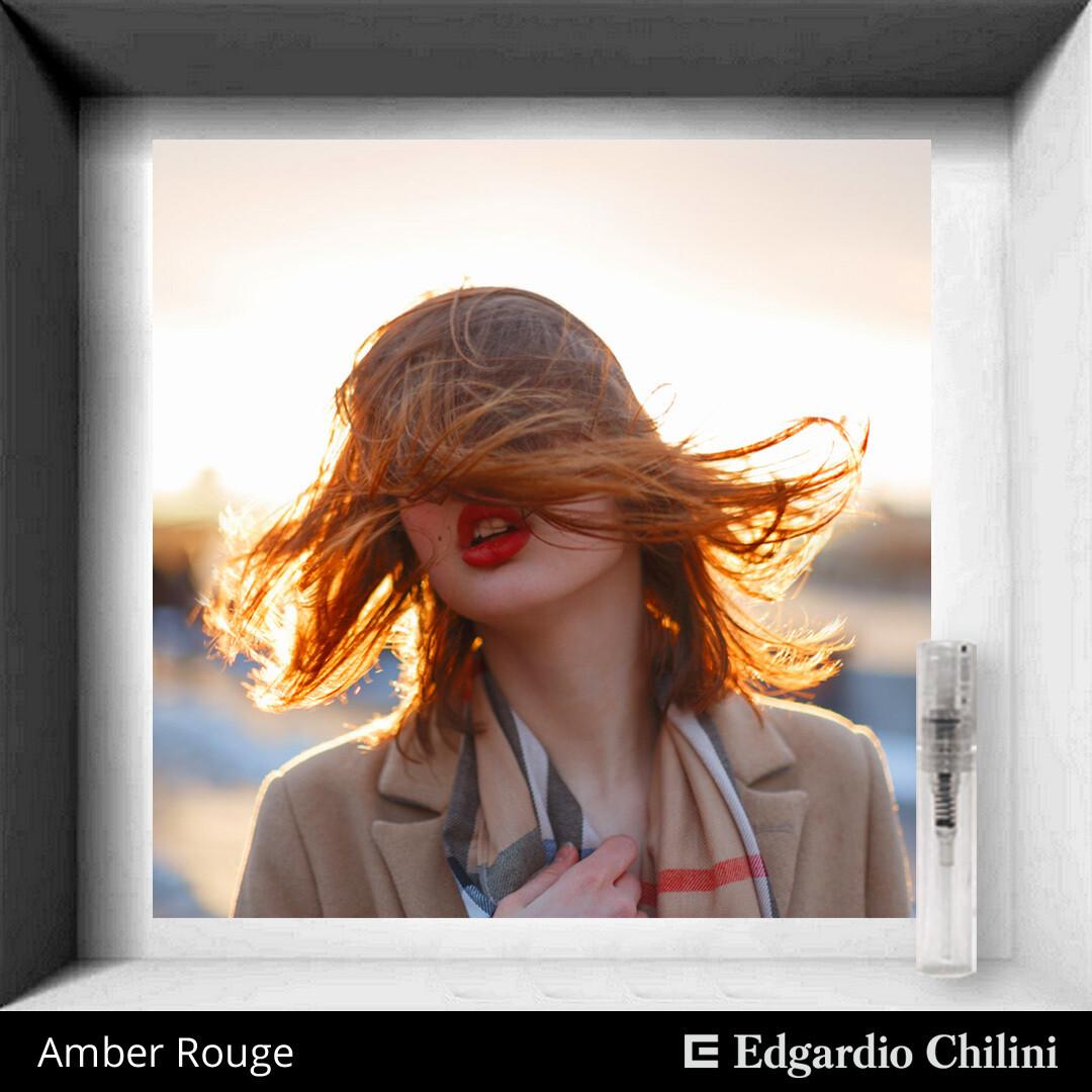 Edgardio Chilini Amber Rouge sample