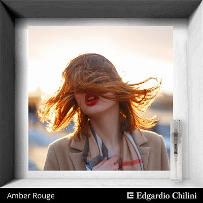 Edgardio Chilini Amber Rouge sample