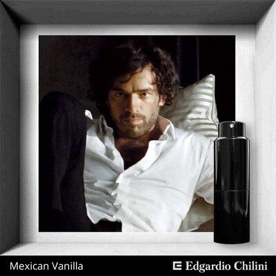 Edgardio Chilini, Mexicana de Vanilla, sophisticated vanilla fragrance