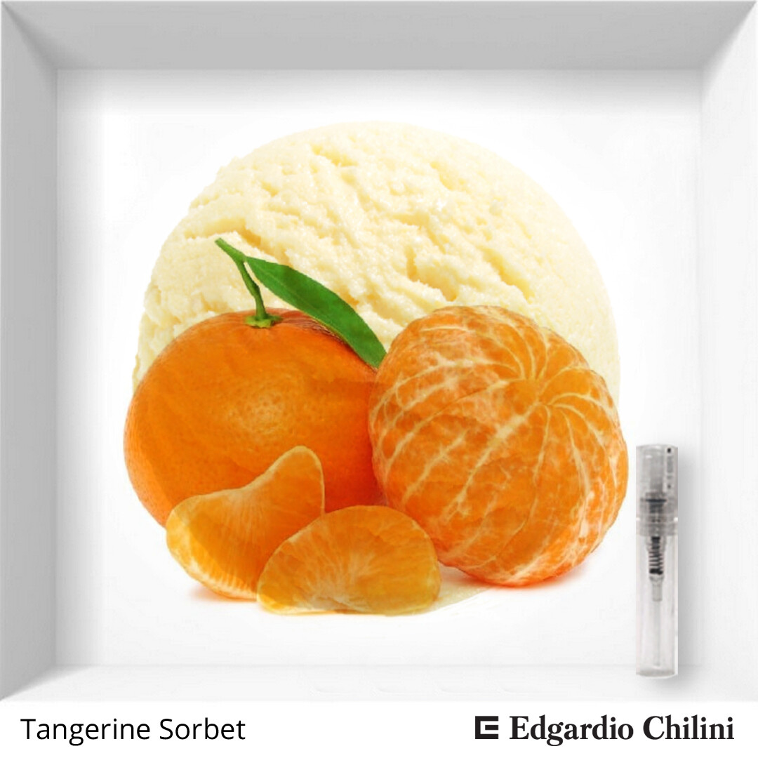 Edgardio Chilini Tangerine Sorbet sample