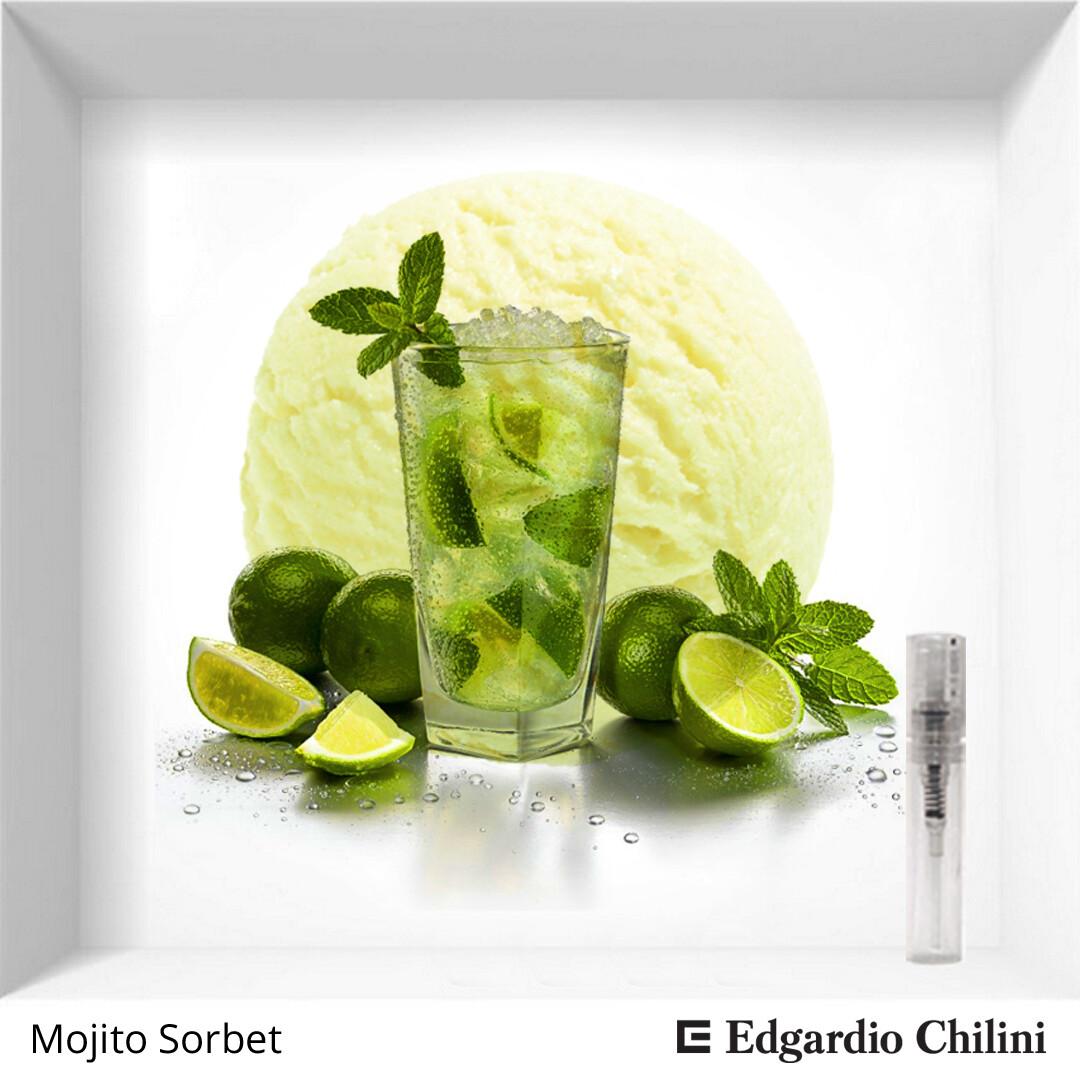 Edgardio Chilini Mojito Sorbet sample