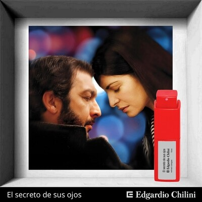 Edgardio Chilini, El secreto de sus ojos, almond amber fragrance
