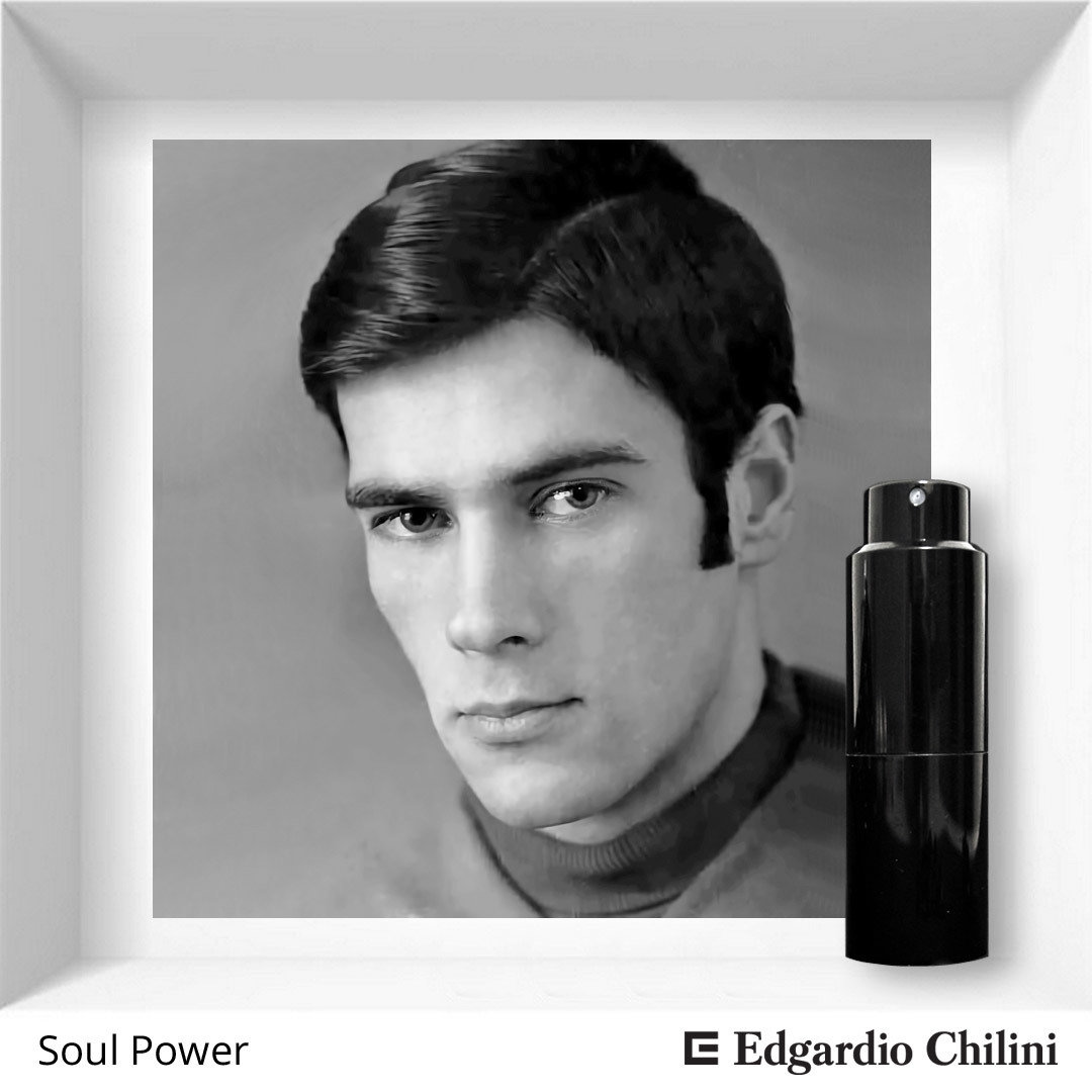 Edgardio Chilini, Soul Power, woody leather fragrance