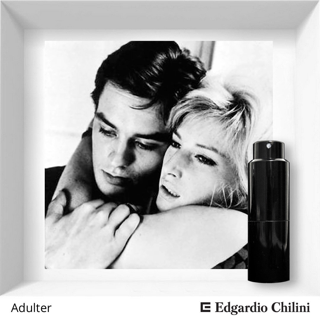 Edgardio Chilini, Adulter, fresh bitter fragrance