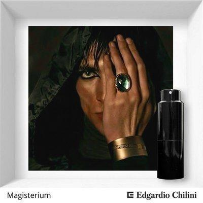 Edgardio Chilini, Magisterium, fresh sweet fragrance