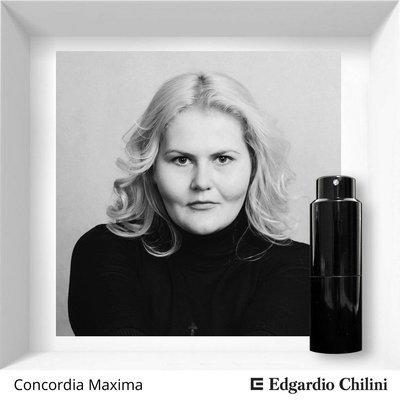 Edgardio Chilini, Concordia Maxima, fruit spicy fragrance