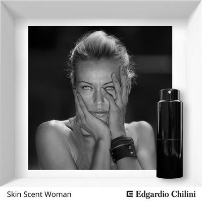 Edgardio Chilini, Skin Scent Woman, floral musk fragrance