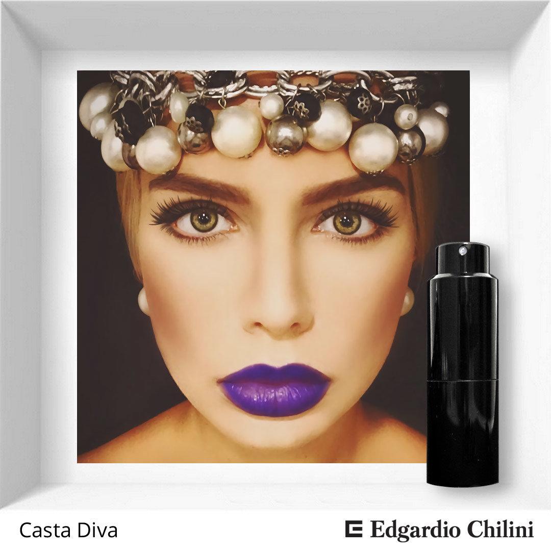 Edgardio Chilini, Casta Diva, floral fruity fragrance