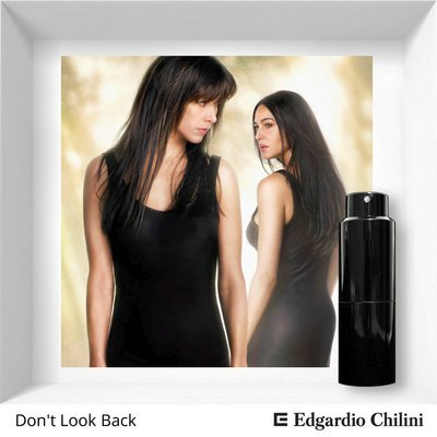 Edgardio Chilini, Don't Look Back, floral fruity fragrance