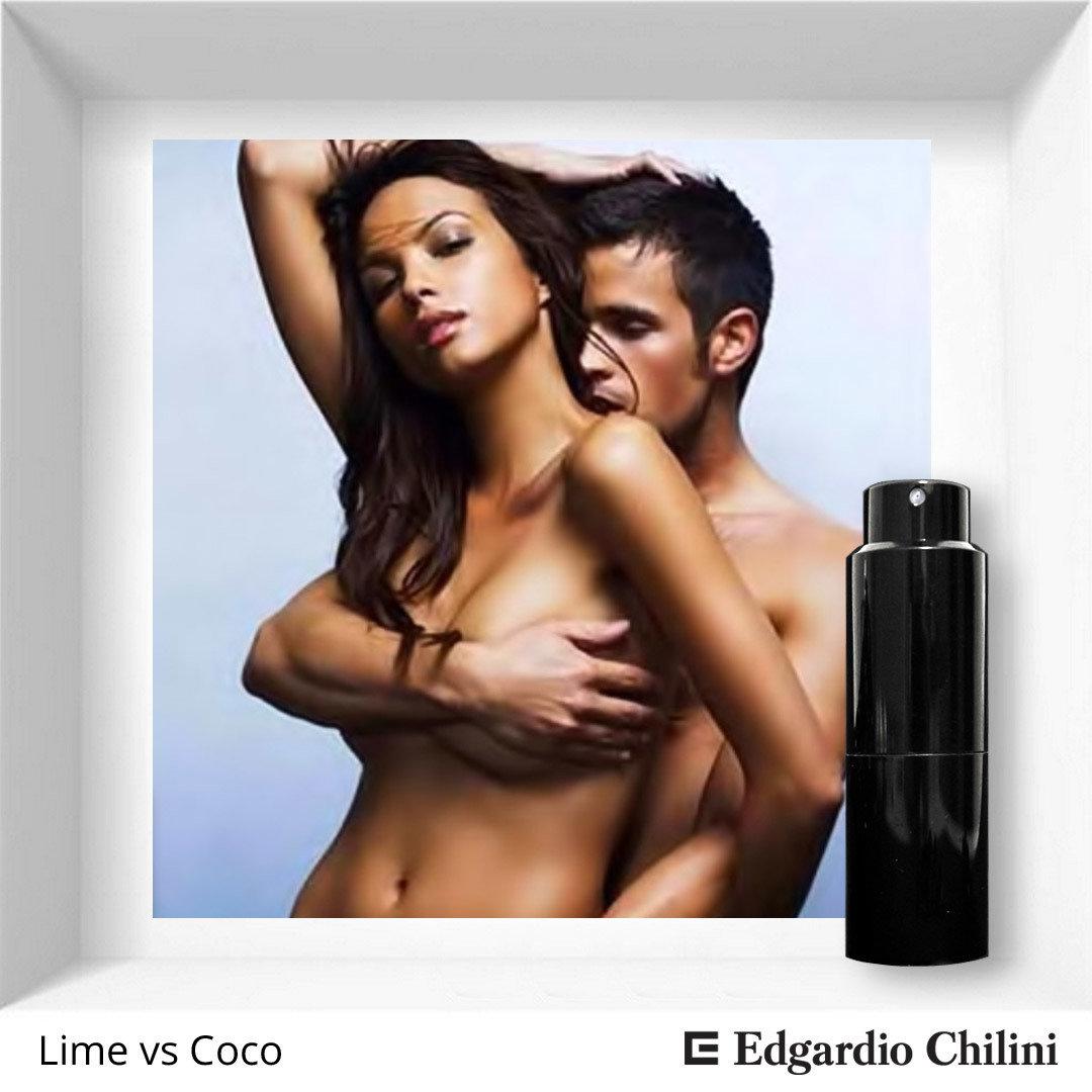 Цитрусовый фруктовый аромат Lime vs Coco, Edgardio Chilini