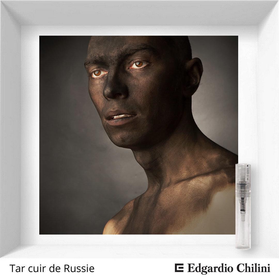 Edgardio Chilini Tar cuir de Russie sample