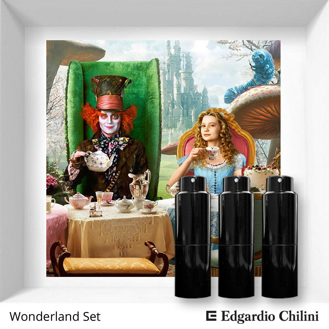 ​Wonderland Set Edgardio Chilini 3 x 10 ml