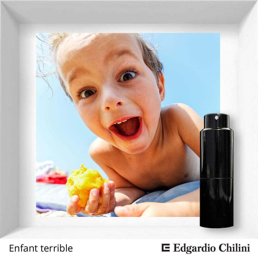 Edgardio Chilini, Enfant terrible, fresh fruit fragrance
