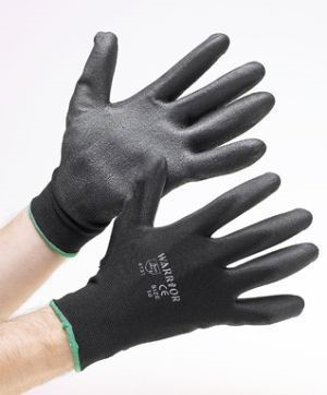 Black PU Gloves Pack of 1
