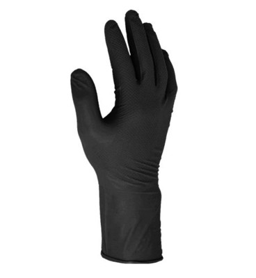 Warrior Fishscale Black Grip Glove (Box of 50)