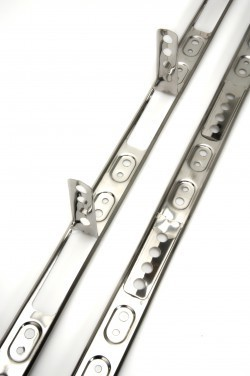 Simpson C2K Crocodile Wall Extension Profile Stainless Steel Pack of 4