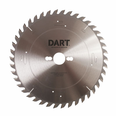 250mm x 30mm Bore x 42 Teeth Prof Wood Saw Blade ATB