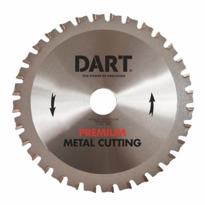 136mm x 20mm Bore x 32 Teeth Silver Metal Saw Blade PMC