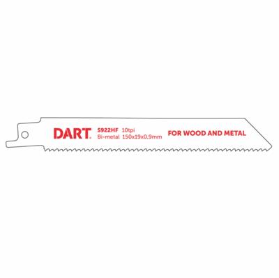 210mm x 10TPI Reciprocating Blades BIM S922HF Pack of 5