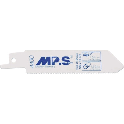 100mm X 18TPI MPS Reciprocating Blades BIM S522EF Pack of 5