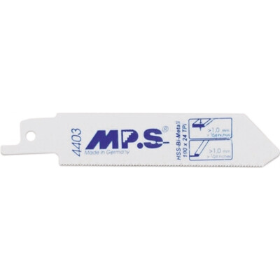 100mm X 25TPI MPS Reciprocating Blades BIM S522AF Pack of 5