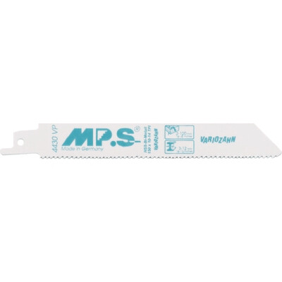 150mm X 10-14TPI Variable Pitch MPS Reciprocating Blades BIM S922VF Pack of 5