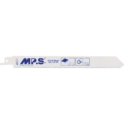 200mm X 10TPI MPS Reciprocating Blades BIM S1022HF Pack of 5