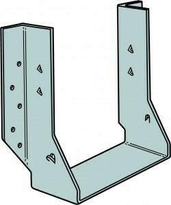 2 ply 70mm x 220-240mm Face Fix Heavy I-Joist Hanger