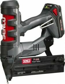 Senco F16 Fusion Nailer 16g Straight Brad Tool (1 Battery)