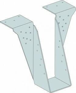 2ply 72mm x 195mm HB Top Flange I-Joist Hanger