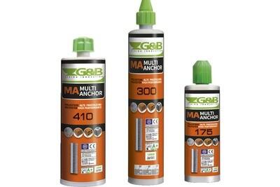 G&B MA400 Polyester Resin Tubes 410ml