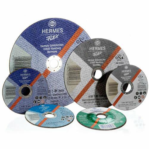 230 (9 Inch) x 2.0mm Hermes-Flex Cutting wheels A 30 T-BF Inox