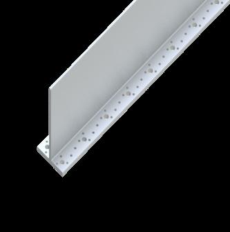 T Shape Aluminium Wood Connector 115mm x 1000mm x 80 mm