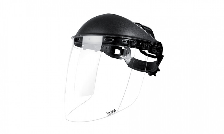 Bolle Sphere Faceshield c/w Polycarbonate Clear Visor