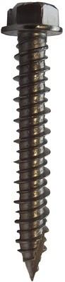 6.3 x 45mm A4 316 Hex Head Masonry Screws  Box of 100