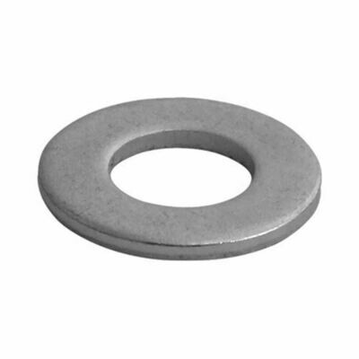 M8 Flat x 16mm OD x 1.6mm Thick (Form A) Washer Galvanised