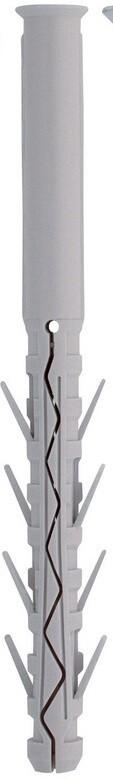 8.0 x 100mm  Friulsider TUP4 Nylon Plugs  Box of 100