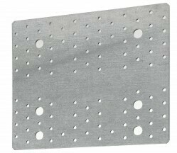 214mm x 255mm CLT Nail Plate Galvanised