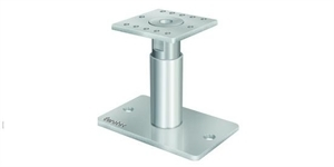 Pedix Post Feet  140mm up to 190mm  Adjustable post supports with fixing kit