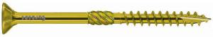12.0mm x 600mm Paneltwistec Screws Countersunk TX50 Torx Drive Zinc & Yellow Coated Box of 25