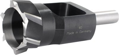 34mm Inside Diameter / 48mm Outside Diameter (13mm Shank) Plug Cutter