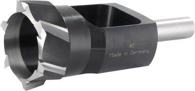 40mm Inside Diameter / 54mm Outside Diameter (13mm Shank) Plug Cutter
