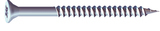 No.8 x 3/4 inch  Pozi Countersunk Wood Screws Twin Thread Zinc Plated Box of 200